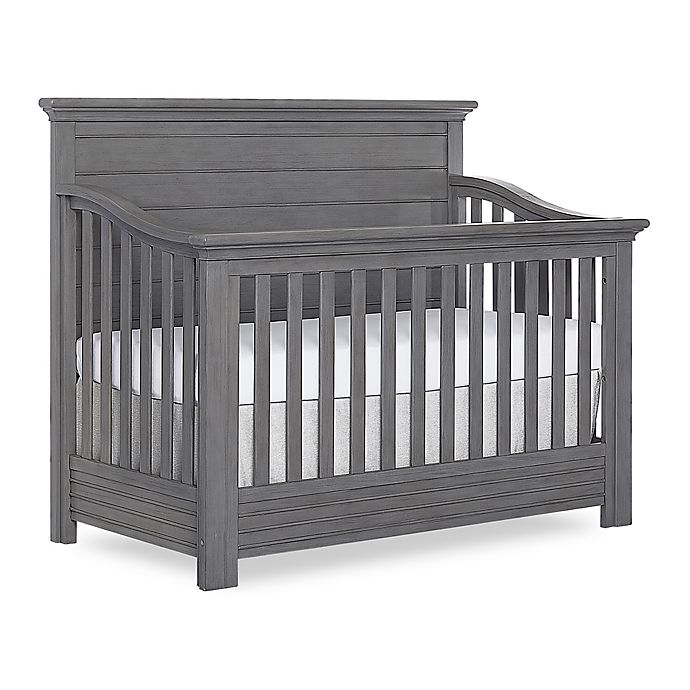 Alternate image 1 for evolur™ Waverly 5-in-1 Convertible Crib in Rustic Grey