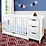 Part of the Graco® Remi 4-in-1 Convertible Crib and Changer in White