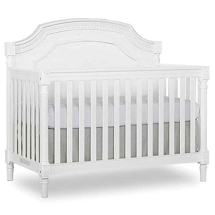 Alternate image 1 for evolur™ Julienne 5-in-1 Convertible Crib in White