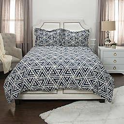 Donny Osmond Geometric Duvet Cover Set