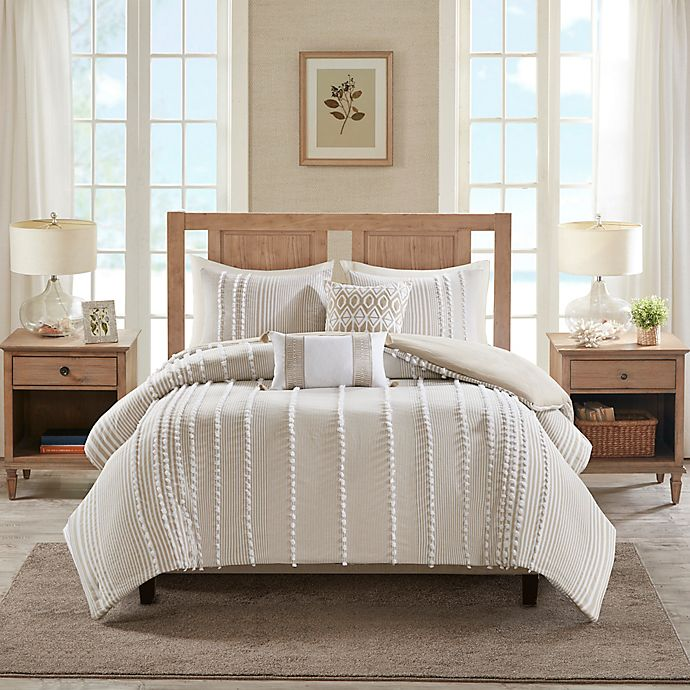 Alternate image 1 for Harbor House® Anslee 3-Piece Reversible Duvet Cover Set
