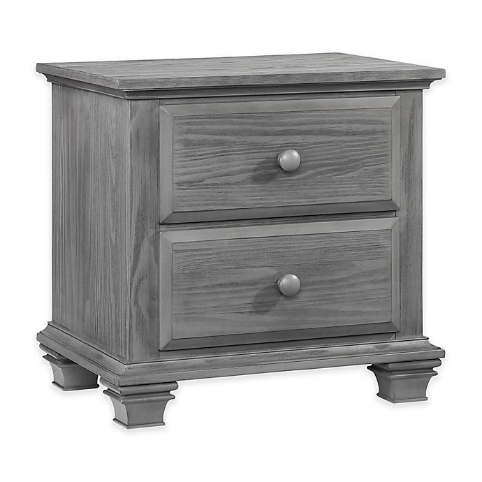 Alternate image 1 for Oxford Baby Kenilworth Nightstand in Graphite Grey