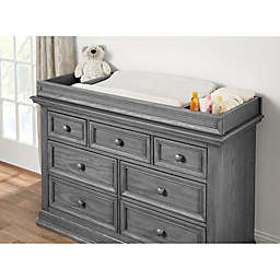 Oxford Baby Glenbrook Changing Topper in Grey/Graphite