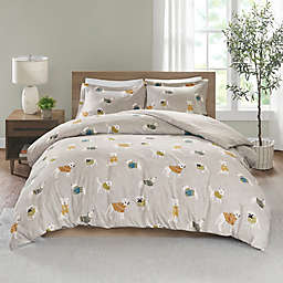True North by Sleep Philosophy Flannel Duvet Cover Set