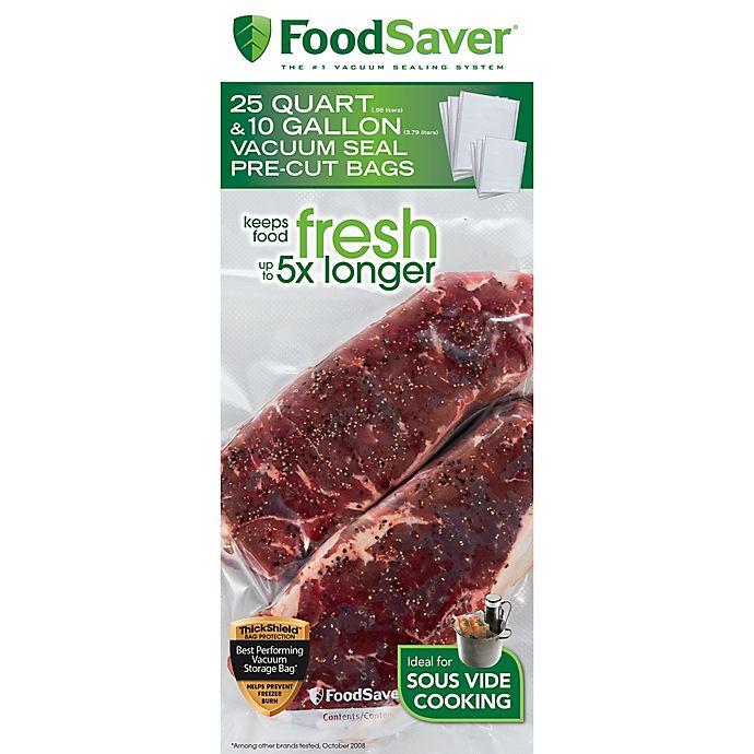 Alternate image 1 for FoodSaver® 35-Count Pre-Cut Vacuum Sealing Bags