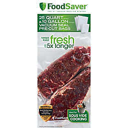 FoodSaver® 35-Count Pre-Cut Vacuum Sealing Bags