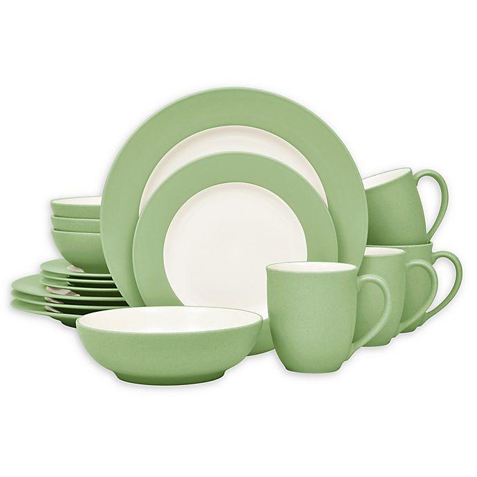 Alternate image 1 for Noritake® Colorwave Rim 16-Piece Dinnerware Set