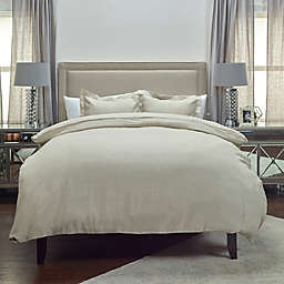 Rizzy Home Covington King Duvet Cover in Natural