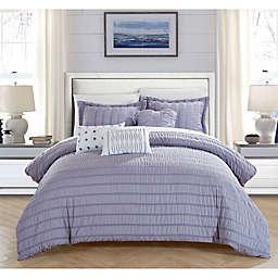 Dazza 6-Piece King Comforter Set in Lavender