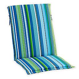 Destination Summer Stripe Sling Back Indoor/Outdoor Cushion