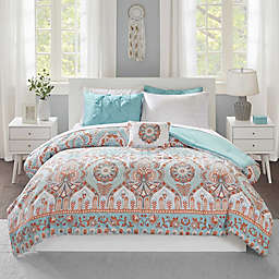 Intelligent Design Vinnie Comforter Set in Aqua