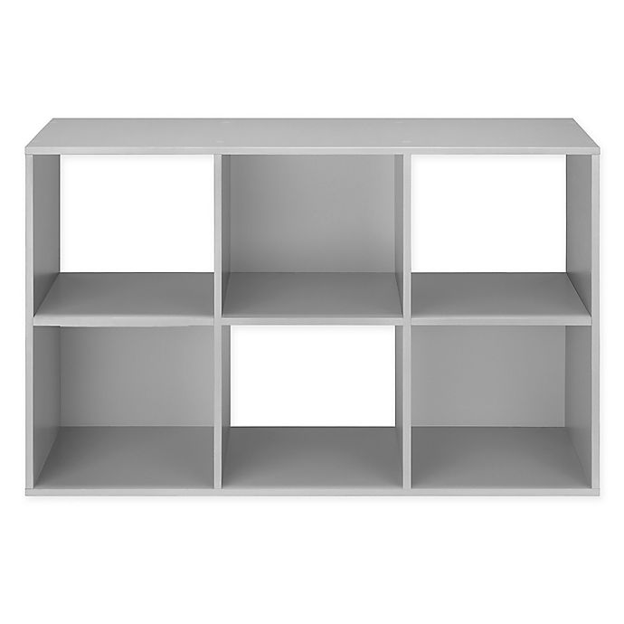 Alternate image 1 for Relaxed Living 6-Cube Organizer in Grey