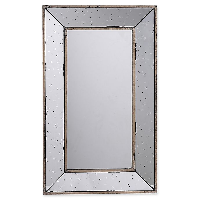 Alternate image 1 for A&B Home Large Rectangle Mirrored Tray