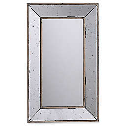 A&B Home Large Rectangle Mirrored Tray