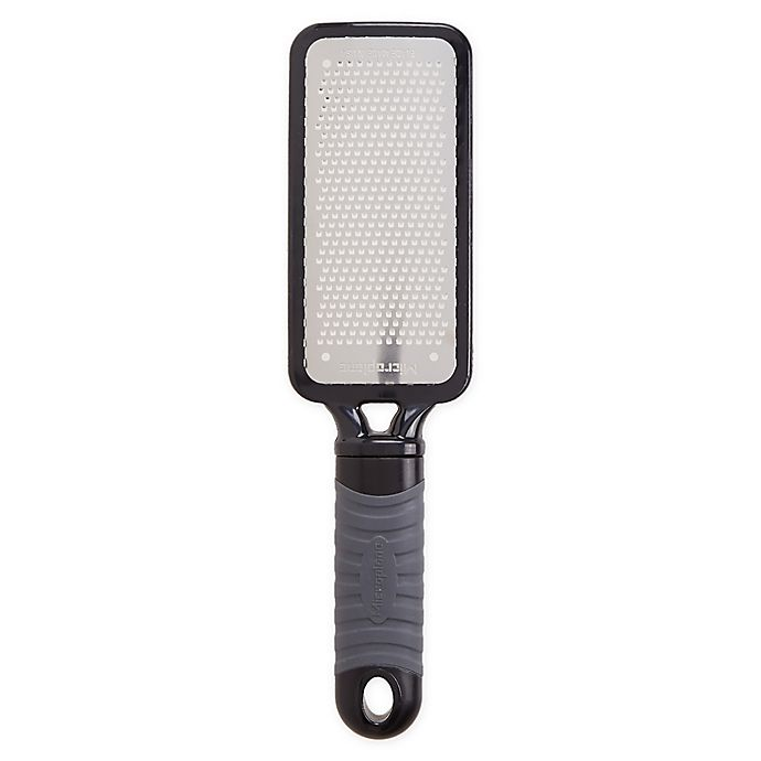 Alternate image 1 for Microplane® Home Series Fine Paddle Grater in Grey