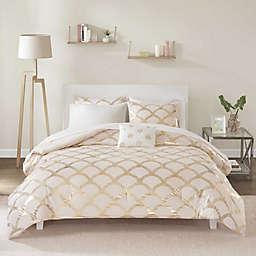 Intelligent Design Lorna 8-Piece Queen Comforter Set in Blush