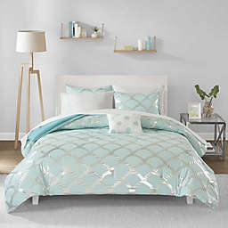 Intelligent Design Lorna 6-Piece Twin XL Comforter Set in Aqua