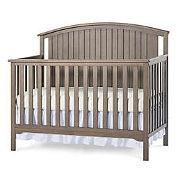 Child Craft™ Forever Eclectic™ Cottage Curve Top Convertible Crib in Dusty Heather