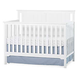Child Craft™ Forever Eclectic™ Cottage Flat Top 4-in-1 Convertible Crib in Matte White