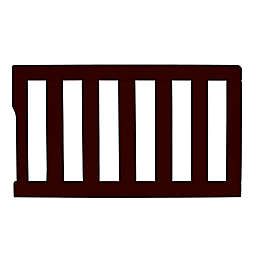 Dream On Me Universal Convertible Crib Toddler Guard Rail in Chocolate