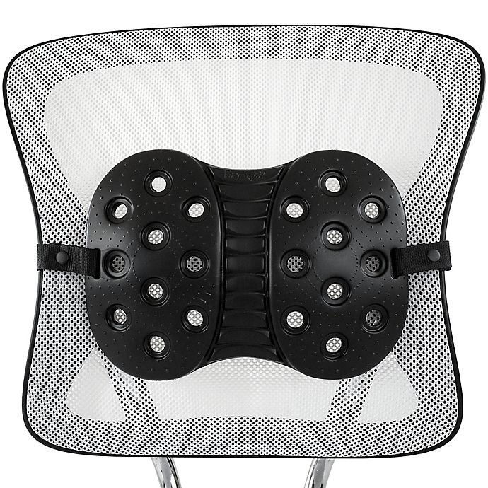 Alternate image 1 for BackJoy® PerfectFit Lumbar Support in Black
