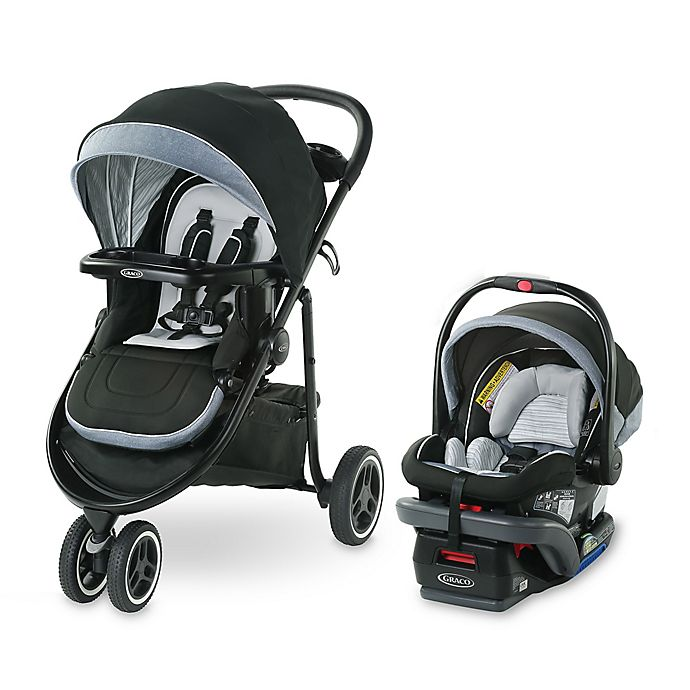 Alternate image 1 for Graco® Modes™ 3 Lite Platinum Travel System in Newport