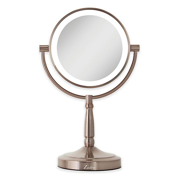 Alternate image 1 for Zadro™ 10x/1x Cordless LED Lighted Vanity Mirror