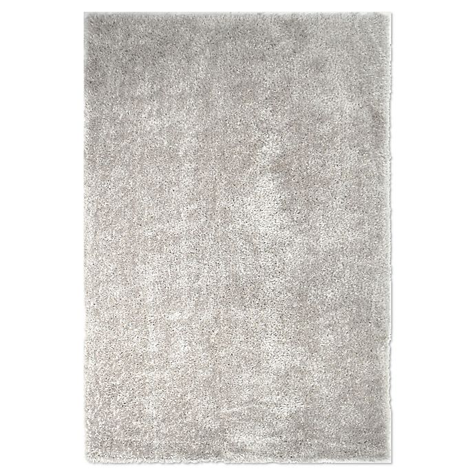 Alternate image 1 for O&O by Olivia & Oliver™ Ambrosia Shag Rug in Light Grey