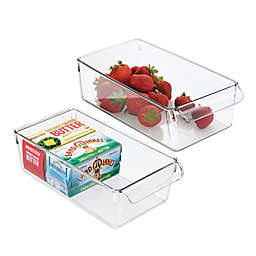 iDesign® Linus Pullz 11.5-Inch x 6-Inch Organizer Box (Set of 2)