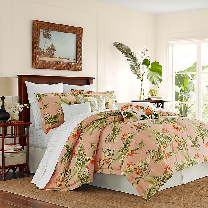 Alternate image 1 for Tommy Bahama® Siesta Key California King Comforter Set in Cantaloupe