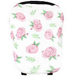 Copper Pearl™ Grace 5-in-1 Multi-Use Cover in Pink Flower