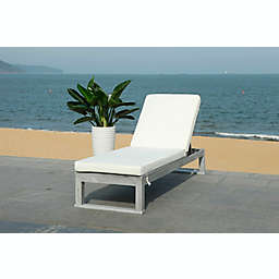 Safavieh Solano Outdoor Chaise Lounge