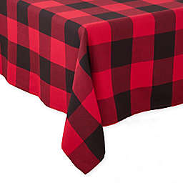 Saro Lifestyle Birmingham Plaid Tablecloth