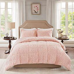 Madison Park Nova Full/Queen Comforter Set in Blush
