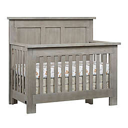 Soho Baby Hanover 4-in-1 Convertible Crib in Oak/Grey