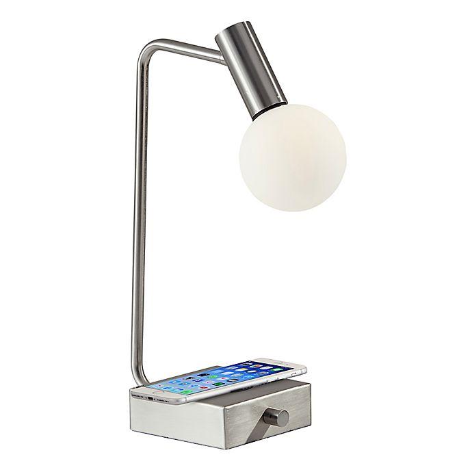 Alternate image 1 for AdessoCharge Windsor LED Desk Lamp