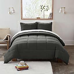 UGG® Devon 3-Piece Reversible Full/Queen Comforter Set in Charcoal