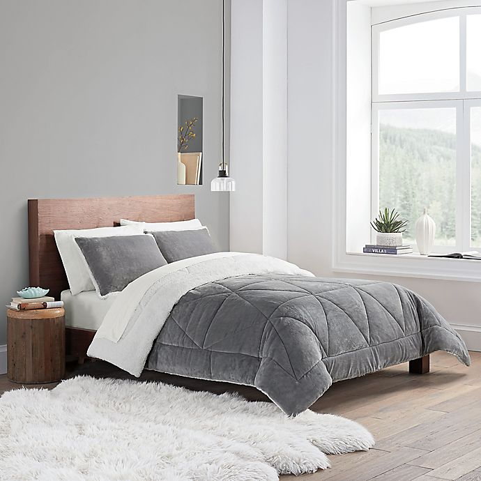 Alternate image 1 for UGG® Avery 3-Piece Reversible Comforter Set