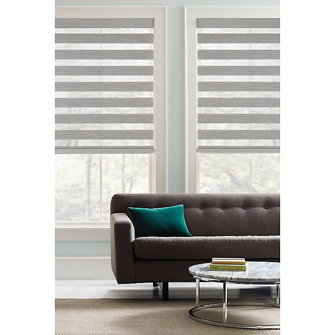Alternate image 1 for Real Simple® Cordless Layered Shade