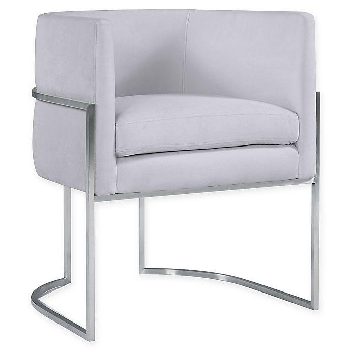 Alternate image 1 for Inspire Me! Home Décor by TOV -Giselle Velvet Upholstered Dining Chair
