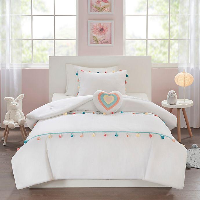 Mi Zone Kids Tessa Tassel Comforter Set Bed Bath Beyond