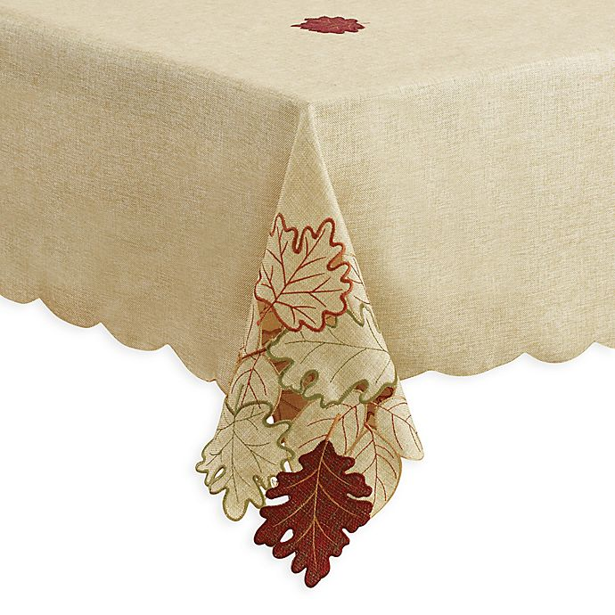 Alternate image 1 for Autumn Bliss Cutwork Table Linen Collection