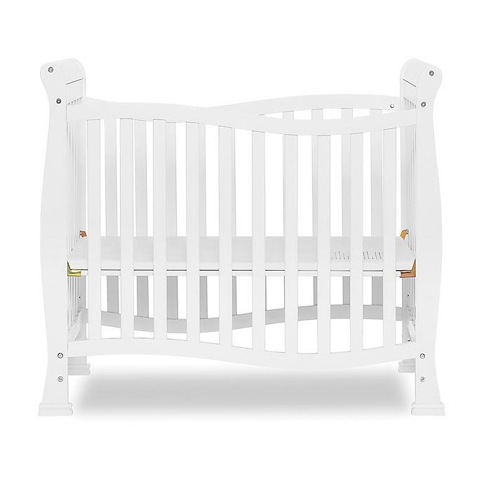 Alternate image 1 for Dream On Me Piper 4-In-1 Convertible Mini Crib in White