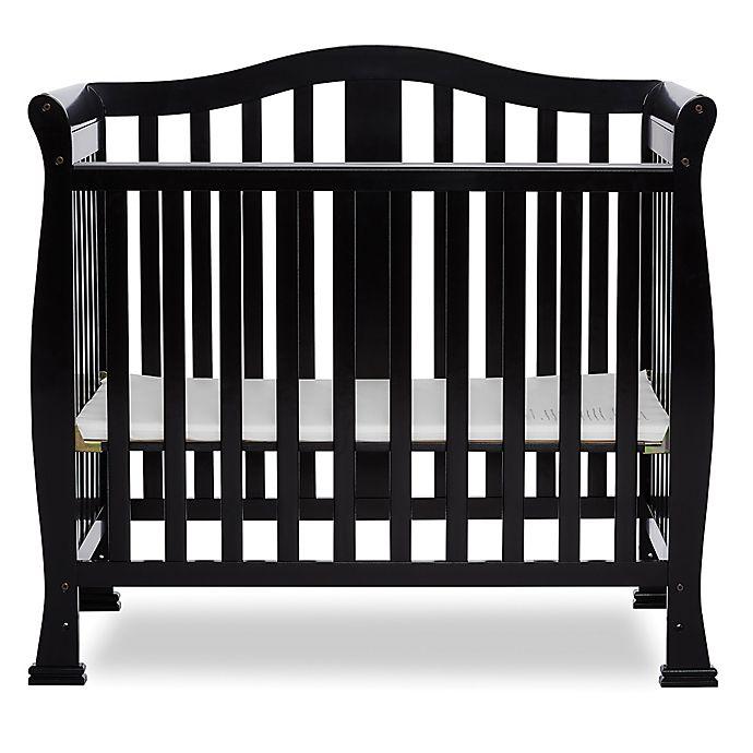 Alternate image 1 for Dream On Me Naples 4-In-1 Convertible Mini Crib