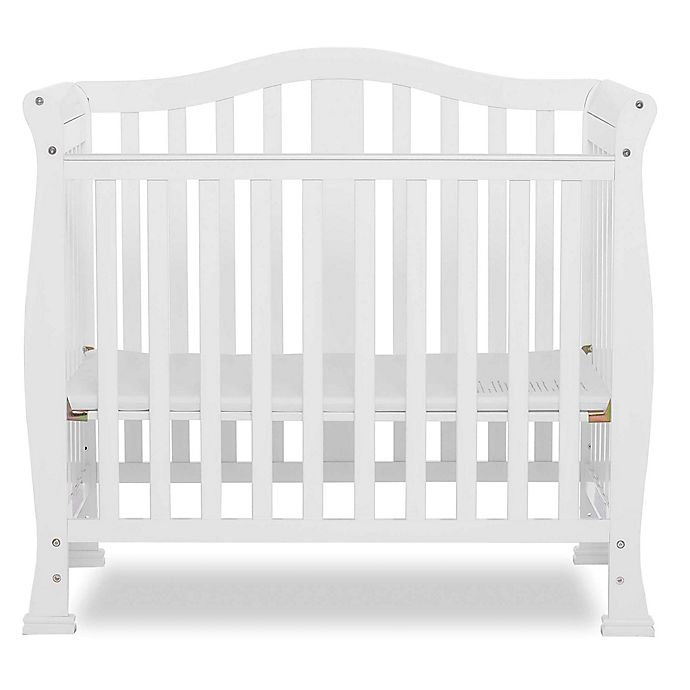 Alternate image 1 for Dream On Me Naples 3-In-1 Convertible Mini Crib in White
