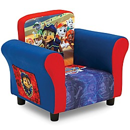 Delta Children Nick JR PAW Patrol Upholstered Chair in Red