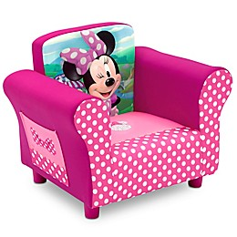 Delta Children Disney® Minnie Mouse Upholstered Chair in Pink