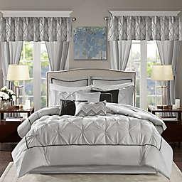 Madison Park® Essentials Joella 24-Piece California King Comforter Set in Grey