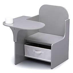 Delta Children MySize Chair Desk with Storage Bin in Grey