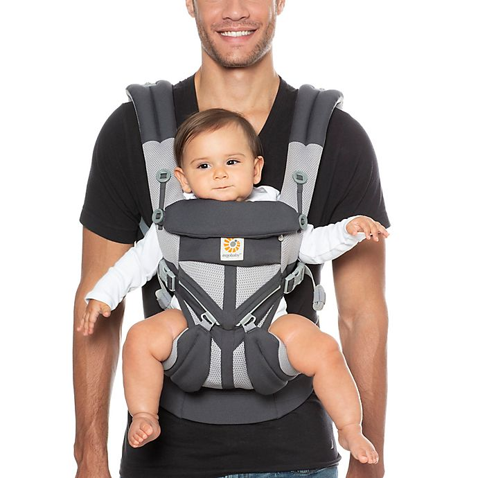 Alternate image 1 for Ergobaby™ Omni 360 Cool Air Mesh Multi-Position Baby Carrier